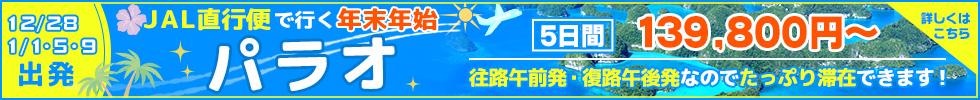 JAL直行便で行くパラオ