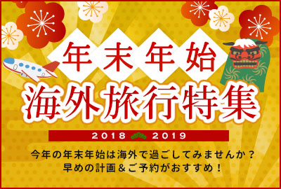 日本では味わえない年越し体験!