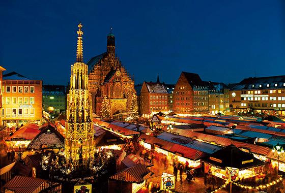 ニュルンベルクのクリスマス市(イメージ) (C)GNTB