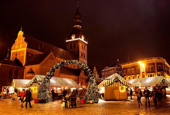 クリスマスディスプレイ(イメージ) (C)Visit Finland