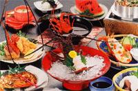 おいしい魚介類をお腹いっぱい!