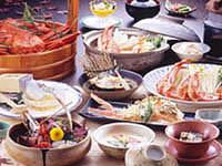 弥彦温泉 名代家  お料理の一例